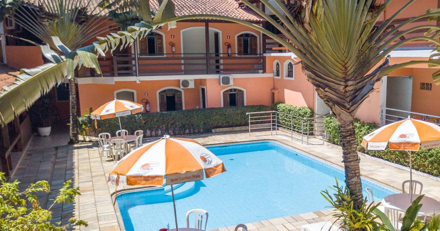 Por que passa as férias no Hotel Camburi Praia?