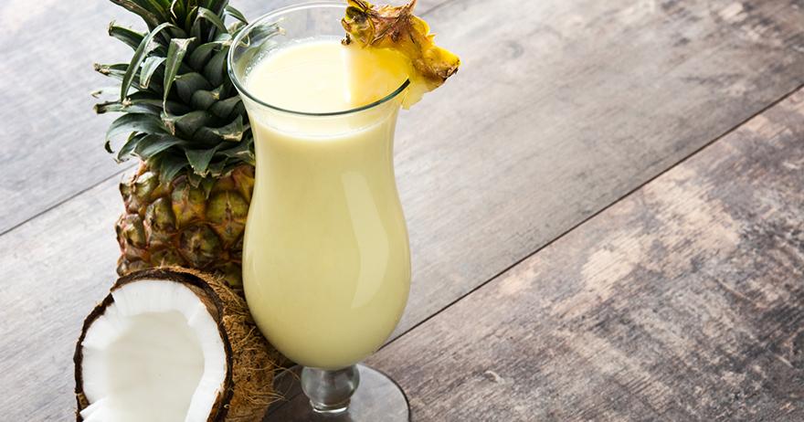Drink de Camburi: Piña colada